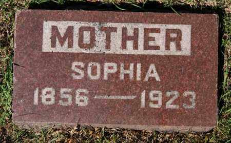 BUSCH, SOPHIA - Lake County, South Dakota | SOPHIA BUSCH - South Dakota Gravestone Photos