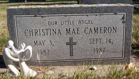 CAMERON, CHRISTINA MAE - Lake County, South Dakota   CHRISTINA MAE CAMERON - South Dakota Gravestone Photos