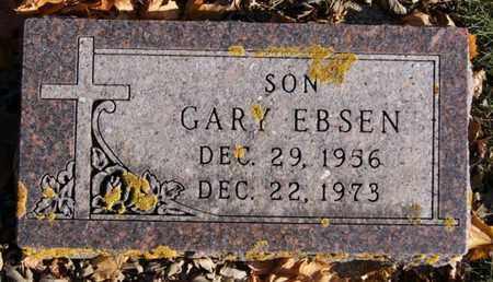 EBSEN, GARY - Lake County, South Dakota | GARY EBSEN - South Dakota Gravestone Photos