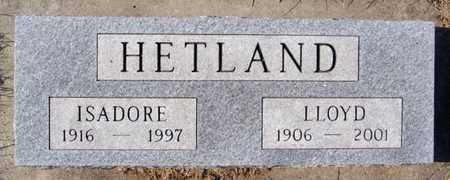 HETLAND, LLOYD - Lake County, South Dakota   LLOYD HETLAND - South Dakota Gravestone Photos