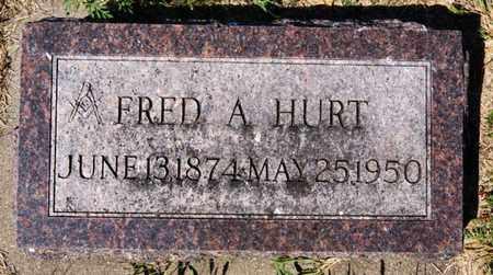 HURT, FRED A - Lake County, South Dakota | FRED A HURT - South Dakota Gravestone Photos