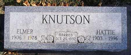 KNUTSON, ELMER - Lake County, South Dakota | ELMER KNUTSON - South Dakota Gravestone Photos