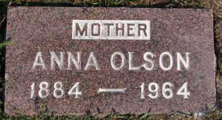 OLSON, ANNA - Lake County, South Dakota | ANNA OLSON - South Dakota Gravestone Photos