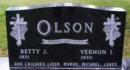 OLSON, VERNON I - Lake County, South Dakota | VERNON I OLSON - South Dakota Gravestone Photos