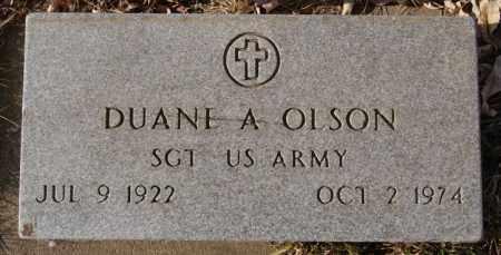 OLSON, DUANE A (MILITARY) - Lake County, South Dakota | DUANE A (MILITARY) OLSON - South Dakota Gravestone Photos