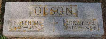 OLSON, EDITH M - Lake County, South Dakota | EDITH M OLSON - South Dakota Gravestone Photos