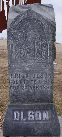 OLSON, ERICK - Lake County, South Dakota | ERICK OLSON - South Dakota Gravestone Photos