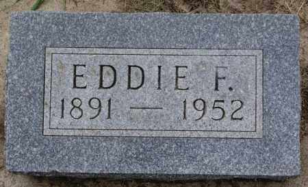 OLSON, EDDIE F - Lake County, South Dakota | EDDIE F OLSON - South Dakota Gravestone Photos