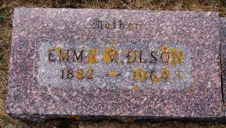 OLSON, EMMA M - Lake County, South Dakota | EMMA M OLSON - South Dakota Gravestone Photos