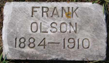 OLSON, FRANK - Lake County, South Dakota | FRANK OLSON - South Dakota Gravestone Photos