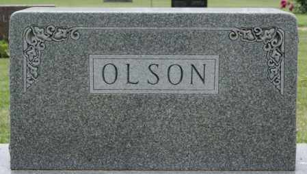 OLSON, FAMILY MARKER - Lake County, South Dakota   FAMILY MARKER OLSON - South Dakota Gravestone Photos
