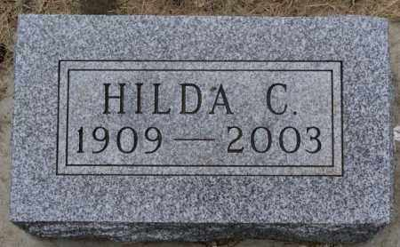OLSON, HILDA C - Lake County, South Dakota   HILDA C OLSON - South Dakota Gravestone Photos