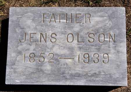 OLSON, JENS - Lake County, South Dakota   JENS OLSON - South Dakota Gravestone Photos