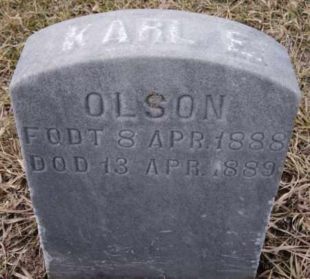 OLSON, KARL E - Lake County, South Dakota | KARL E OLSON - South Dakota Gravestone Photos