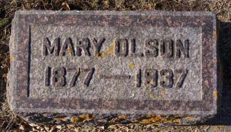 OLSON, MARY - Lake County, South Dakota | MARY OLSON - South Dakota Gravestone Photos