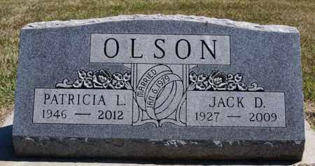 OLSON, JACK D - Lake County, South Dakota | JACK D OLSON - South Dakota Gravestone Photos