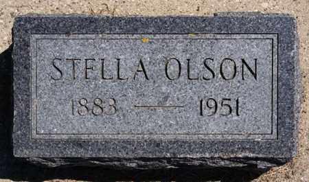 OLSON, STELLA - Lake County, South Dakota | STELLA OLSON - South Dakota Gravestone Photos