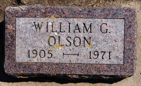 OLSON, WILLIAM G - Lake County, South Dakota | WILLIAM G OLSON - South Dakota Gravestone Photos
