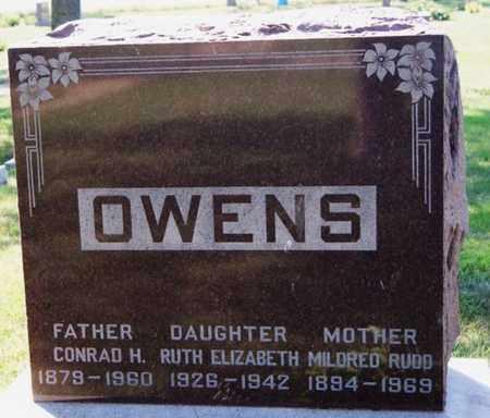 OWENS, CONRAD - Lake County, South Dakota | CONRAD OWENS - South Dakota Gravestone Photos