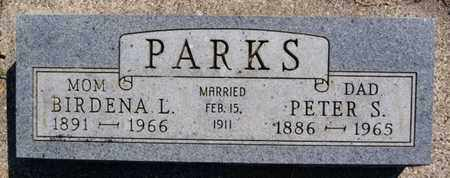 PARKS, PETER S - Lake County, South Dakota | PETER S PARKS - South Dakota Gravestone Photos