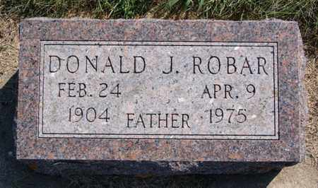 ROBAR, DONALD J - Lake County, South Dakota | DONALD J ROBAR - South Dakota Gravestone Photos