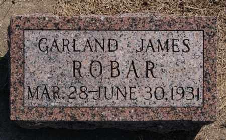 ROBAR, GARLAND JAMES - Lake County, South Dakota | GARLAND JAMES ROBAR - South Dakota Gravestone Photos