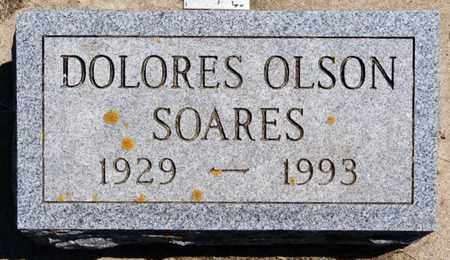 OLSON SOARES, DOLORES - Lake County, South Dakota | DOLORES OLSON SOARES - South Dakota Gravestone Photos