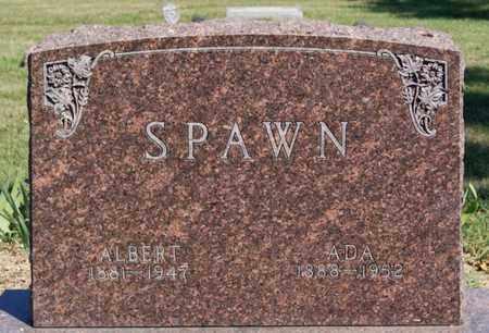 SPAWN, ALBERT - Lake County, South Dakota | ALBERT SPAWN - South Dakota Gravestone Photos