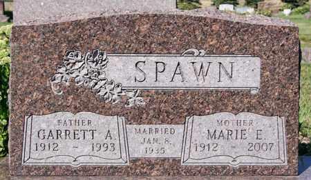 SPAWN, MARIE E - Lake County, South Dakota   MARIE E SPAWN - South Dakota Gravestone Photos