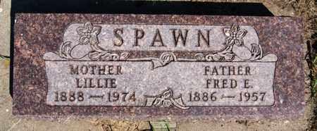 SPAWN, FRED E - Lake County, South Dakota | FRED E SPAWN - South Dakota Gravestone Photos