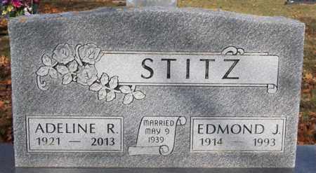 STITZ, ADELINE R - Lake County, South Dakota | ADELINE R STITZ - South Dakota Gravestone Photos