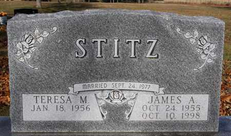 STITZ, JAMES A - Lake County, South Dakota | JAMES A STITZ - South Dakota Gravestone Photos