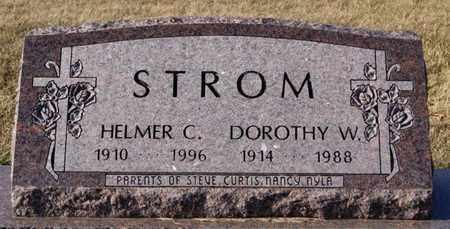 STROM, DOROTHY W - Lake County, South Dakota | DOROTHY W STROM - South Dakota Gravestone Photos