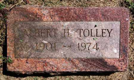 TOLLEY, ALBERT H - Lake County, South Dakota | ALBERT H TOLLEY - South Dakota Gravestone Photos
