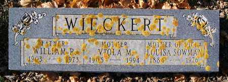 WIECKERT, VIOLA M - Lake County, South Dakota | VIOLA M WIECKERT - South Dakota Gravestone Photos