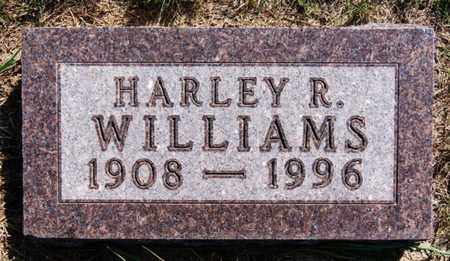 WILLIAMS, HARLEY R - Lake County, South Dakota   HARLEY R WILLIAMS - South Dakota Gravestone Photos