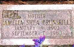 SHEA BRUNSKILL, AMELIA - Lawrence County, South Dakota | AMELIA SHEA BRUNSKILL - South Dakota Gravestone Photos