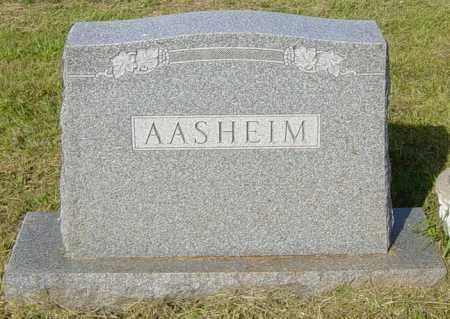 AASHEIM, FAMILY - Lincoln County, South Dakota   FAMILY AASHEIM - South Dakota Gravestone Photos