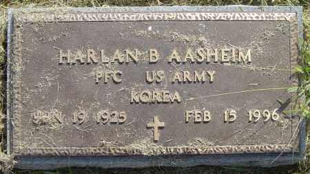 AASHEIM, HARLAN B - Lincoln County, South Dakota | HARLAN B AASHEIM - South Dakota Gravestone Photos