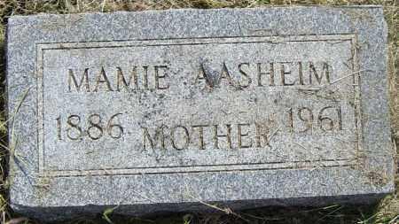 AASHEIM, MAMIE - Lincoln County, South Dakota   MAMIE AASHEIM - South Dakota Gravestone Photos