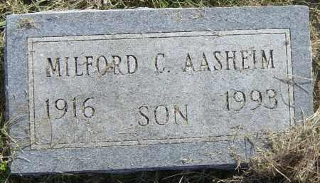 AASHEIM, MILFORD C - Lincoln County, South Dakota   MILFORD C AASHEIM - South Dakota Gravestone Photos