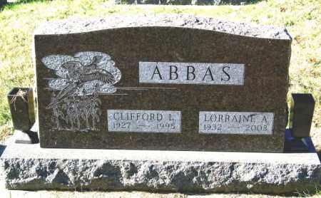 ABBAS, LORRAINE A - Lincoln County, South Dakota | LORRAINE A ABBAS - South Dakota Gravestone Photos