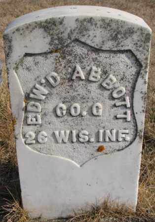 ABBOTT, EDW'D - Lincoln County, South Dakota | EDW'D ABBOTT - South Dakota Gravestone Photos