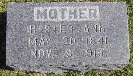 ABBOTT, HESTER ANN - Lincoln County, South Dakota | HESTER ANN ABBOTT - South Dakota Gravestone Photos