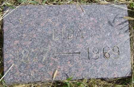 ABBOTT, LIDA - Lincoln County, South Dakota   LIDA ABBOTT - South Dakota Gravestone Photos