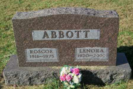 ABBOTT, LENORA - Lincoln County, South Dakota | LENORA ABBOTT - South Dakota Gravestone Photos