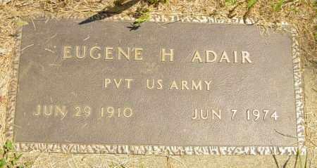 ADAIR, EUGENE H - Lincoln County, South Dakota | EUGENE H ADAIR - South Dakota Gravestone Photos