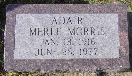 ADAIR, MERLE MORRIS - Lincoln County, South Dakota | MERLE MORRIS ADAIR - South Dakota Gravestone Photos