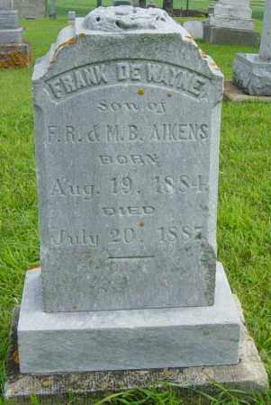 AIKENS, FRANK DEWAYNE - Lincoln County, South Dakota | FRANK DEWAYNE AIKENS - South Dakota Gravestone Photos