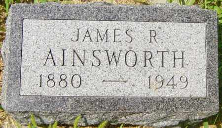 AINSWORTH, JAMES R - Lincoln County, South Dakota   JAMES R AINSWORTH - South Dakota Gravestone Photos